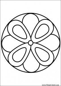 Mandalas Simples para Pintar (14)