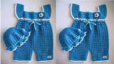 Crochet Baby Sweaters, Crochet Baby Bonnet, Crochet Baby Clothes, Crochet Hats, Crochet Diy, Baby Knitting Patterns, Baby Patterns, Onesie Pattern, Crochet Crocodile Stitch