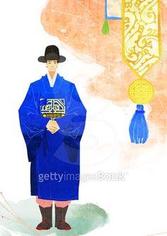 한국 전통 일러스트