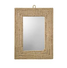 Could be an easy nautical DiY Project (Edisto Jute Mirror - HomeMint)