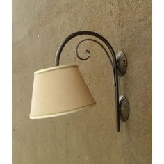 WROUGHT IRON WALL LAMP design . 182 Iron Wall, Lamp Design, Wrought Iron, Sconces, Applique, Wall Lights, Lighting, Cottage, Country