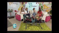 Ana Laura Invitada especial Teleantioquia Medellín Colombia programa las Tres Gracias
