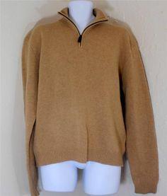 Polo Ralph Lauren Sweater Men's XXL 100% Lambswool Jumper #PoloRalphLauren #12Zip