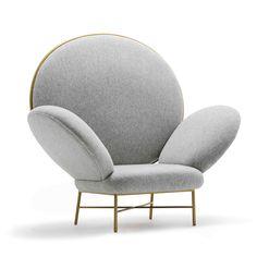 'Stay' armchair by Nika Zupanc for Sé London, | www.bocadolobo.com/ #luxuryfurniture #designfurniture