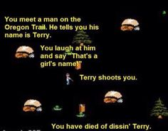 For my Oregon Trail pals