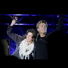 Amy Grant and Michael W Smith
