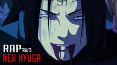 NEJI  Rap Tributo #48  NARUTO - Saikore Videos Anime, Rap, Youtube, Naruto, Facebook, Twitter, Fictional Characters, Wraps, Fantasy Characters