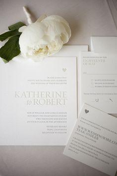 Allineamento bandiera a destra. Esempio partecipazioni matrimonio. Molto elegante e leggibile, perfetto in questo caso per degli inviti, originale!