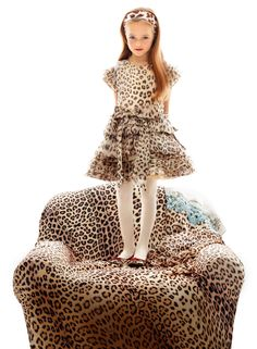 {little fashion} Roberto Cavalli Launches F/W Kids Collection - TheFashioniStyle Fashion Art, Girl Fashion, Fashion Dresses, Fashion Kids, Roberto Cavalli, Chic Outfits, Kids Outfits, Designer Childrenswear, Kristina Pimenova