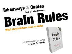 brain-rules-for-presenters by garr via Slideshare