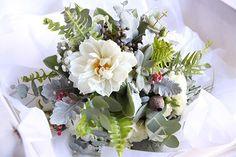 winter foliage bouquets