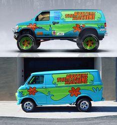 4x4, Dodge Van, Scooby Snacks, Cool Vans, Car Sketch, Audi R8, Scooby Doo, Super Cars, Sportscar