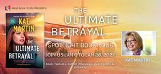 Stephanie Jane: The Ultimate Betrayal by Kat Martin + #Giveaway Kat Martin, Truth Meaning, Books New Releases, Book Corners, Day Book, Mystery Thriller, Book Title, Book Journal, Listening To Music