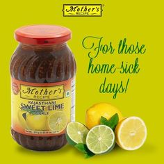 Rajasthani Sweet Lime pickle from Mother's Recipe is sure to make you miss home a little bit less