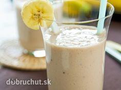 Banánové smoothie z mandľového mlieka