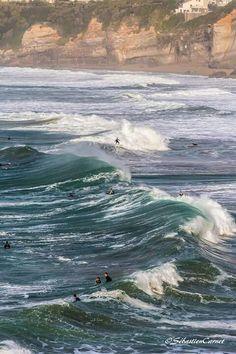 Surf Biarritz Les Landes France