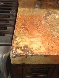 concrete kitchen counter top