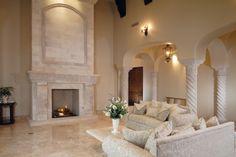 Elegant living room by Knipp