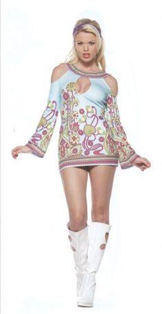 Cool Costumes Groovy Go Go Key Hole Costume just added...