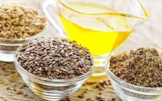 Молотые семена льна и льняное масло