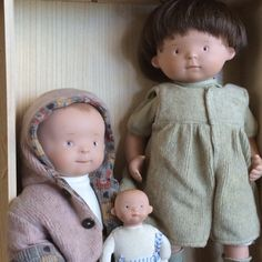 White Balloon, Milly Mo, Milly Suse and a baby doll.