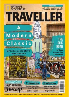 Greece's 'Creative Renaissance' in National Geographic Traveller.
