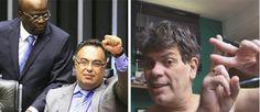 Política na Rede: Vocalista do Ultraje a Rigor rebate gesto de petista a Barbosa com foto polêmica no Twitter