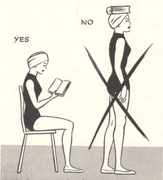 Can't I have one on my head and one in my hands? Smart AND good posture? Sounds good to me.