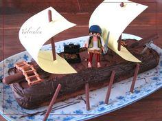 Gateau anniversaire Tim bateau 2