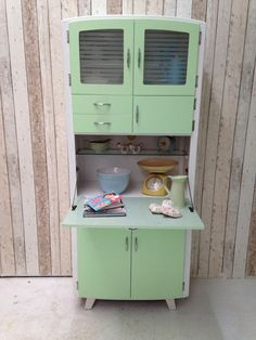 1950's Vintage Kitchenette Kitchen Larder Unit Cabinet Rockabilly ...