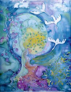 Мир души человека. Рисуют дети : НОВЫЙ МИР What Dreams May Come, 4 Element, Goddess Art, Russian Art, Light Art, Love And Light, Potpourri, Fiber, Journey