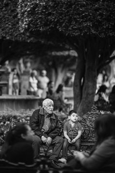 El nieto y el abuelo
