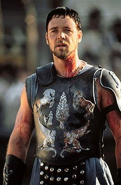 """My name is Maximus Decimus Meridius, commander of the Armies of the North, General of the Felix Legions, loyal servant to the true emperor, Marcus Aurelius. Father to a murdered son, husband to a murdered wife. And I will have my vengeance, in this life or the next."" - Maximus (Gladiator, 2000 - Russell Crowe)"