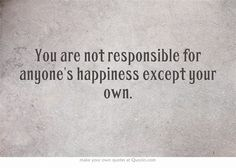 Own your happiness