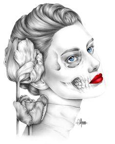 Original Portrait Drawing by Helene Cayre Watercolor Drawing, Watercolor Pencils, Pencil Portrait, Figurative Art, Pencil Drawings, Surrealism, Buy Art, Paper Art, Saatchi Art