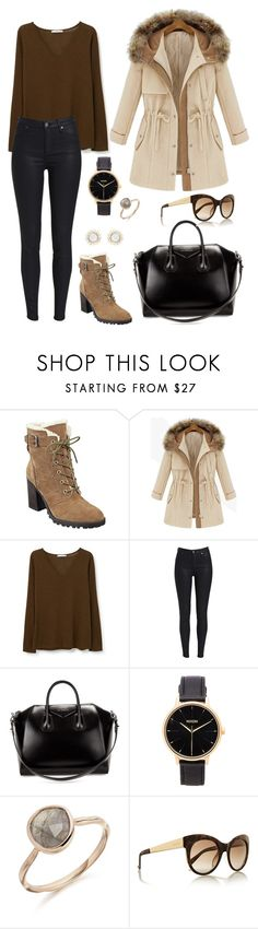 """Untitled #767"" by cr-mariana ❤ liked on Polyvore featuring Ivanka Trump, MANGO, Givenchy, Nixon and Gucci"