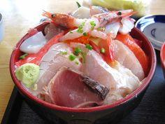 """Kaisen-don"" 海鮮丼"