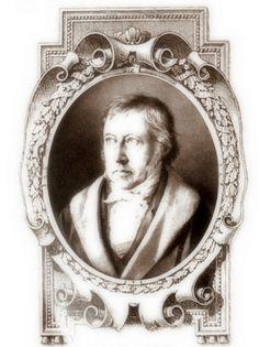 Georg Wilhelm Friedrich Hegel (1770-1831), célebre filósofo alemán, uno de los grandes pensadores de la historia (Public Domain) #miercolesretratos #EnciclopediaLibre