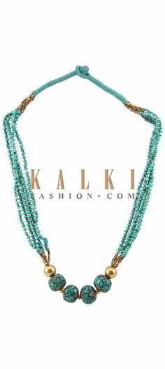 Buy Online from the link below. We ship worldwide (Free Shipping over US$100) Price-$39 Click Anywhere to Tag http://www.kalkifashion.com/turq-earring-embellished-in-moti-embroidery-only-on-kalki.html Tag PhotoAdd LocationEdit