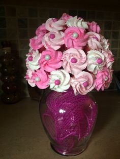 Cupcake bouquet by https://www.facebook.com/pages/Carries-House-of-Cakes/1386231801691852