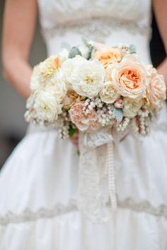 Very romantic bouquet! Flowers by flowerwild.com, Photography by mibelleinc.com