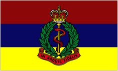 Royal Army Medical Corps Camp Flag [3:5]