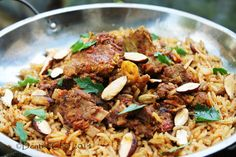 Lamb and Goat Mandi Rice Recipe. Mandi rice or Mandhi rice, also known as Haneeth, is the traditional spicy rice dish that very popular in the rest of the Arabian Peninsula and in many other Arab …