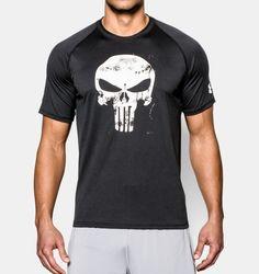 Men's Under Armour® Alter Ego Punisher T-Shirt; MEDIUM PLZ