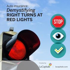 Auto insurance: Demystifying right turns at red lights | La Capitale