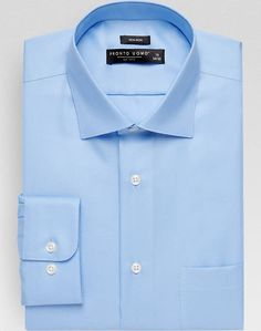 Pronto Uomo Light Blue Modern Fit Dress Shirt