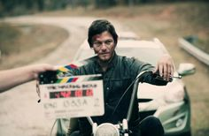 Norman Reedus i love you....so hoping to meet him while the filming is going on here in my small town!!!!!!