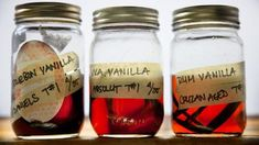 Homemade Vanilla  Some things aren't really worth the time and energy to make at home when you can just buy them, but vanilla extract isn't one of them. Making it is easy, and you'll get a superior product at home for less money than you'd spend on the same quantities in the grocery store. Here's how it's done.