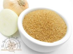 Sweet Onion Sugar...add to chicken, pork or shrimp just before grilling for a caramelized onion flavor...$4.89