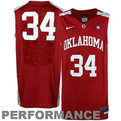 Show your support for the Sooner basketball team by wearing this jersey.